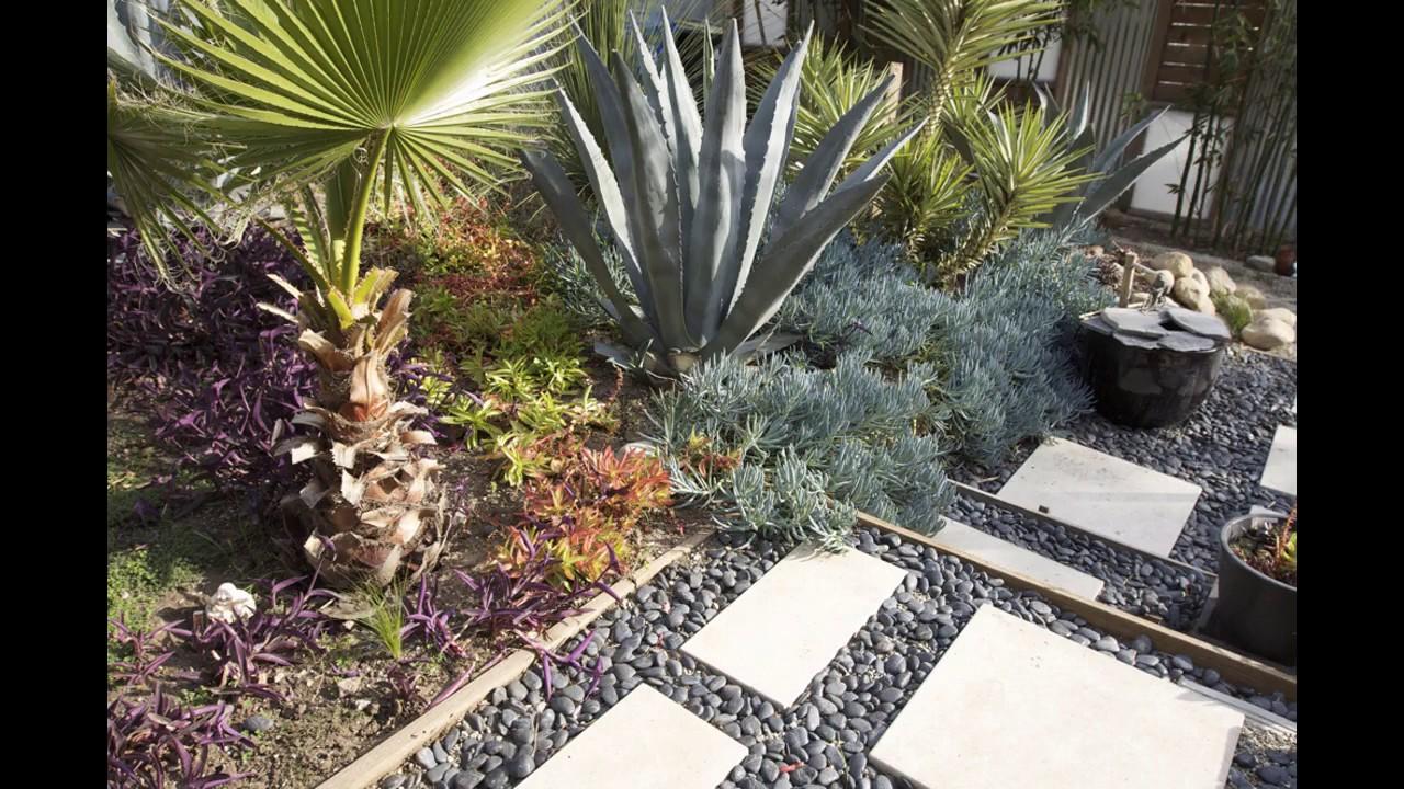 Ideas de dise o de jard n de grava youtube for Decoracion jardin grava