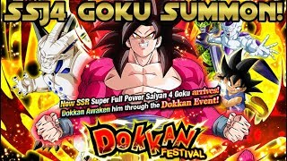 My Luck Has Changed! Lucky Single Summons on the FP SSJ4 Goku Banner!  DBZ Dokkan Battle