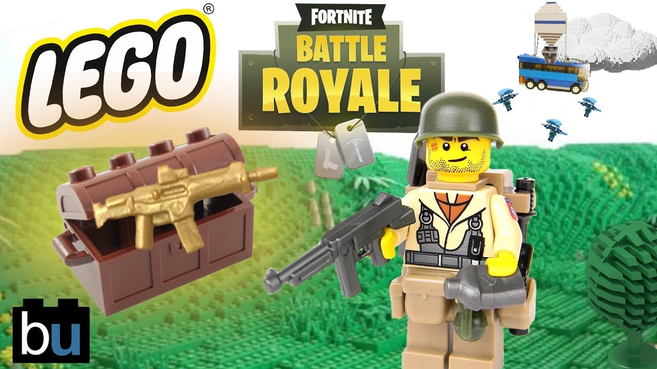 Lego Fortnite Battle Royale Brickfilm Youtube