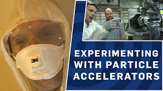 Experimenting With Particle Accelerators | Brit Lab