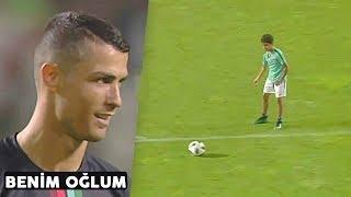Ronaldo'nun Oğlu, Yetenekleriyle İnterneti Fethetti 2019 / Babası Memnun