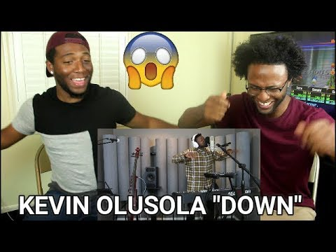 "Down (Marian Hill KOver) - Kevin ""K.O."" Olusola (REACTION)"