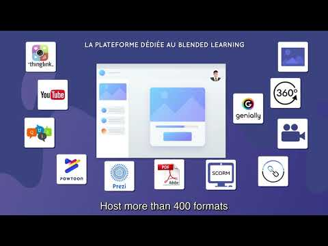 RISE UP, Blended Learning Platform