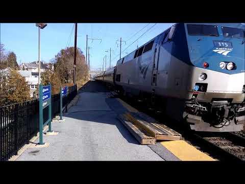 The Pennsylvanian Train 43 at Malvern 11/15/17