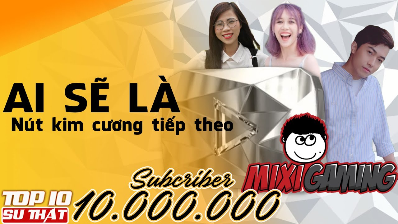 Diamond Button Race Of 10 YouTubers Vietnam Part 2 |  Who will be the winner?
