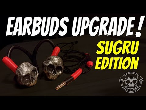 SleepyOni: Earbuds Upgrade - Sugru Edition!