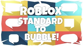 ROBLOX Classic Chat to Bubble Chat Tutorial! (2018)