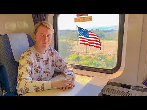 Американские поезда - БИЗНЕС КЛАСС в США
