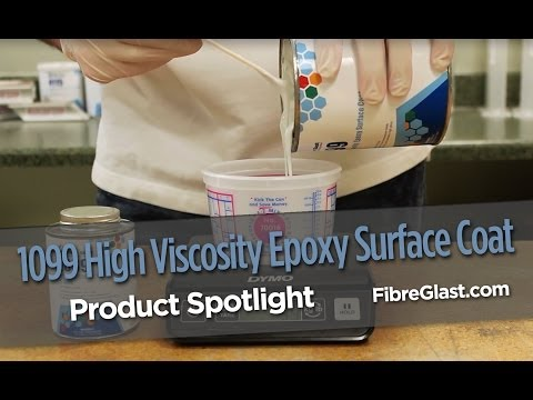 1099 High Viscosity Epoxy Surface Coat