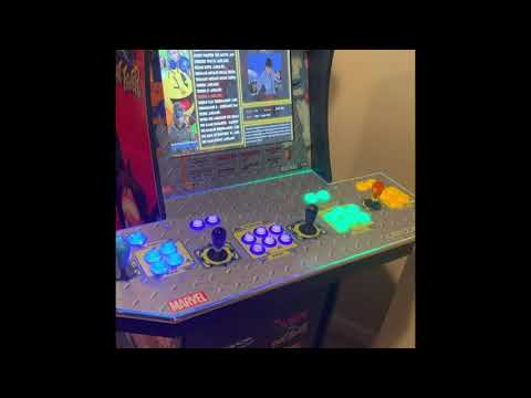 Arcade1up 2 player to 4 player conversion... from Ryan Bottorf