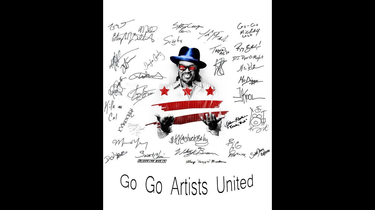 "GO-GO ARTISTS UNITED DROP 'I WANNA THANK YOU"" FOR DONNIE SIMPSON."