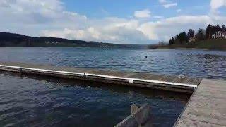 Tandemarcencieltour : Lac de Malbuisson (Doubs)