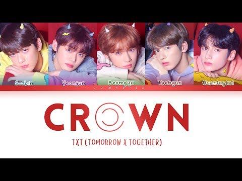 TXT - CROWN (어느날 머리에서 뿔이 자랐다) [Color Coded Lyrics/Han/Rom/Eng/가사]