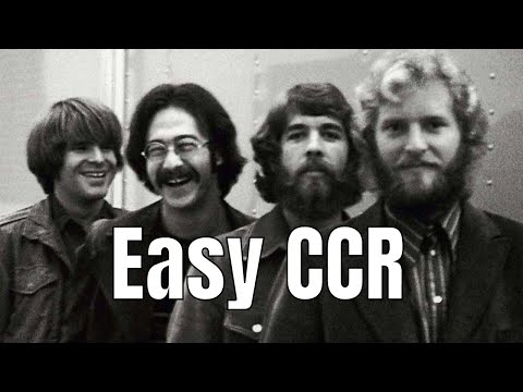Have You Ever Seen The Rain Chords Strumming Pattern Easy Ccr