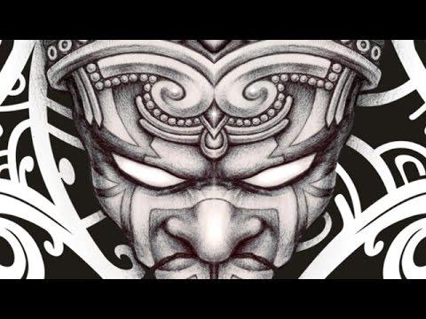 dccf75c4b Aztec calendar tribal tattoo - YouTube