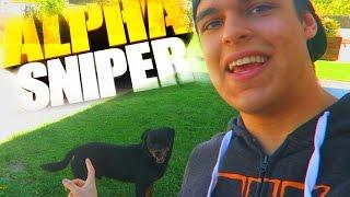 Mi PERRO me MUERDE las PELOTAS XD - AlphaSniper