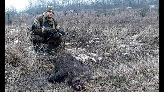 Крутая загонная охота (БЕЗ ЦЕНЗУРЫ!!!) Охота в России /