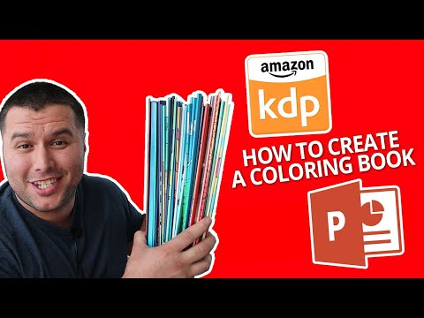 - How To Make A Coloring Book For Kdp - (Using PowerPoint) - YouTube