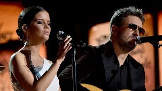 Maren Morris, Eric Church Pay Tribute To Vegas Victims At 2018 Grammys