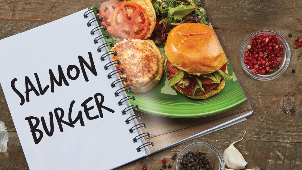 Copper Chef Pan Salmon Burger Recipe Youtube
