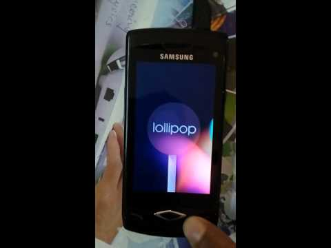 Samsung Wave (GT-S8500) with Android Lollipop 5.1