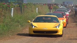 MEGA PARX SUPERCARS SHOW RALLY 2015 in Mumbai, India - Super Scintillating Experience !!!!