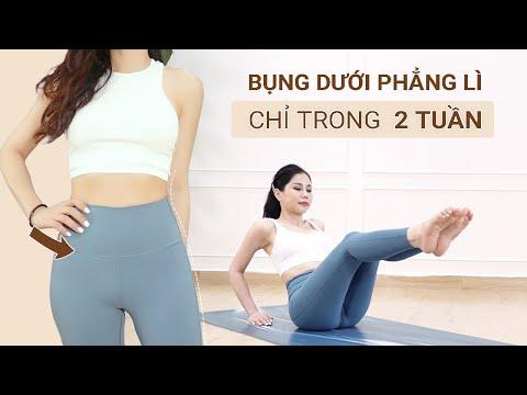 Bài tập 5 PHÚT giảm mỡ bụng dưới hiệu quả | Mia Vu