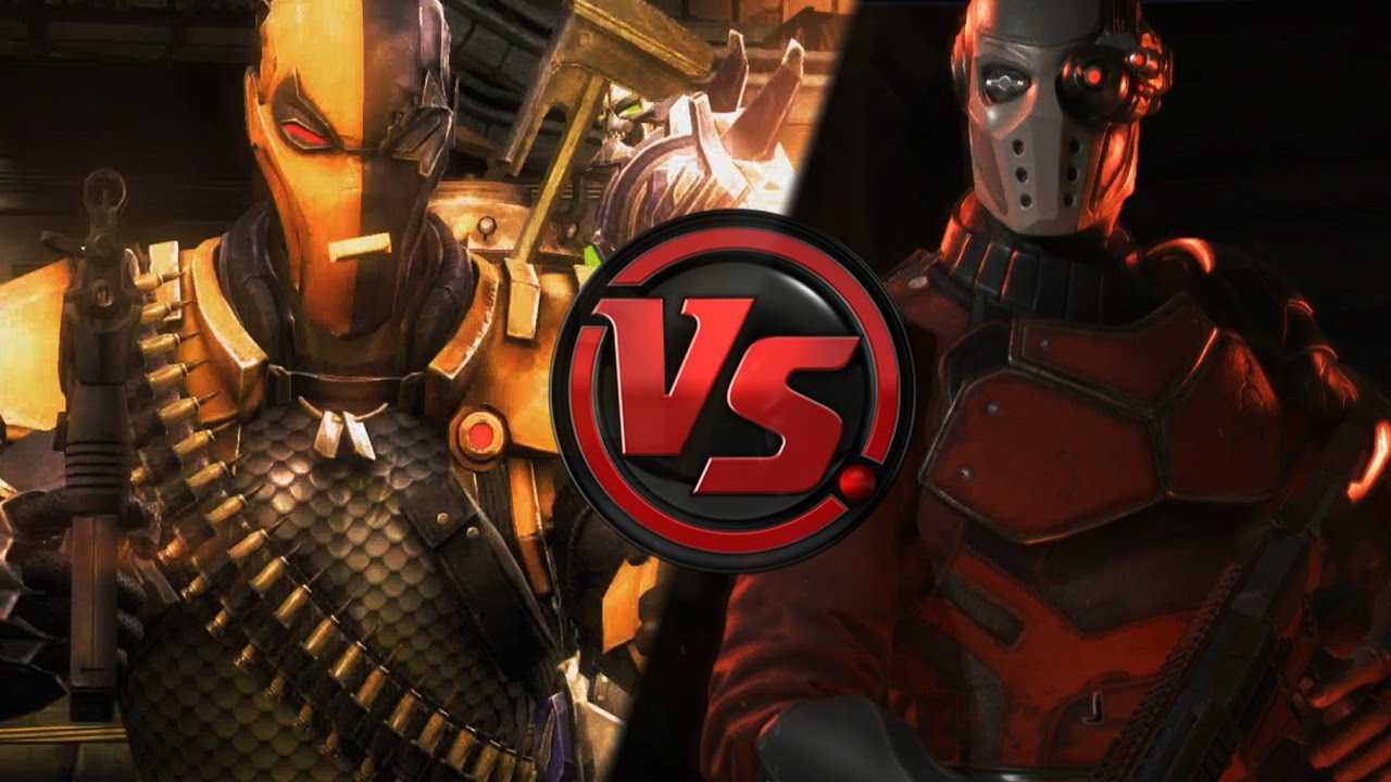 Deadshot vs Deathstroke - Comparison Injustice Gods Among ...