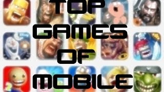 Top List Of Mobile Games