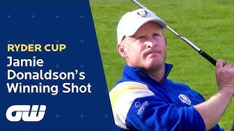 Jamie Donaldson's Winning Shot at the 2014 Ryder Cup | Highlights | Ryder Cup | Golfing World
