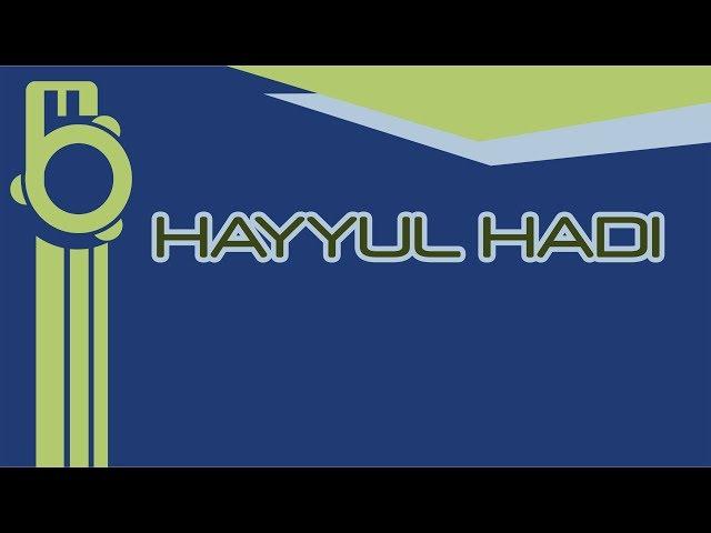 Hayyul Hadi (Karaoke - Lirik) - Instrument Banjari Cover
