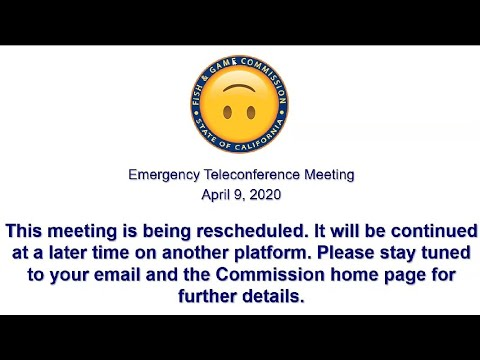 CA Fishing-Ban Meeting Disrupted By Chaotic Callers (Uncensored) - How NOT To Host A Public Call
