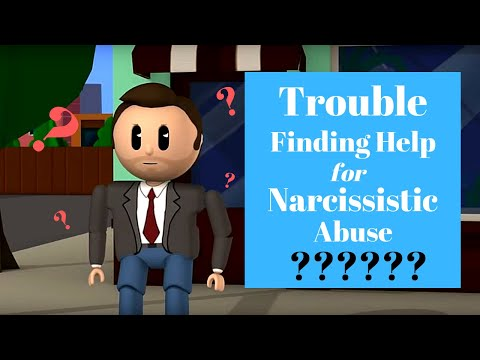 Finding a Therapist That Specializes in Narcissistic Abuse & helping Lack of Confidence