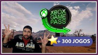 Mais de 300 Jogos no Xbox Game Pass e  seu Aplicativo para PC