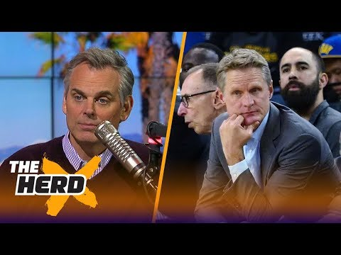 Tom Tolbert joins Colin to talk Golden State Warriors, LaVar's impact on the Lakers  THE HERD