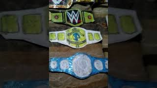 Wwe belts handmade and easy to make