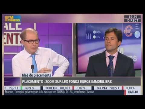 Fonds euros immobilier - Patrimea sur BFM Business
