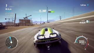 Need for speed Payback - New record on the Hyperspace Race