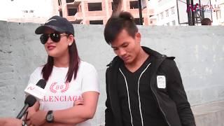 "मोबाइलमा के छ? An interview with Chiran Rai and Sangya Shrestha actors of Nepali movie 'MATTIMALA"""