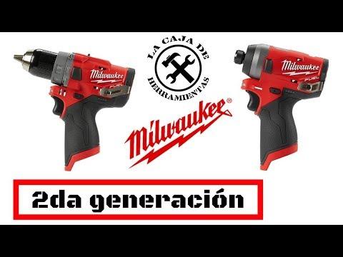 M12 2da Generación MILWAUKEE, Taladro y atornillador