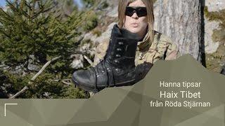 Recension: Hanna tipsar om kängor - Haix Tibet