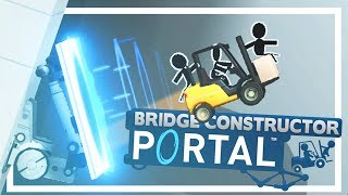 Poly Bridge but with Portals