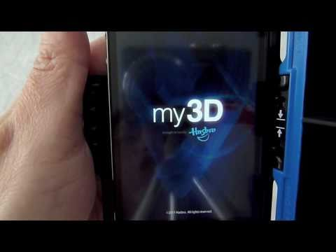 Hasbro My3D for the iPhone and iPod Touch