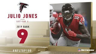 #9: Julio Jones  Wr, Falcons  | Top 100 Players Of 2019 | Nfl