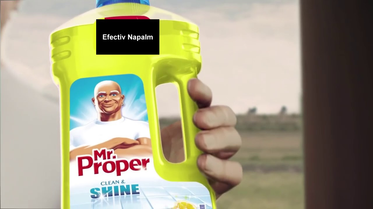 Super NOUA RECLAMĂ MR. PROPER 2018!! - YouTube NF-63