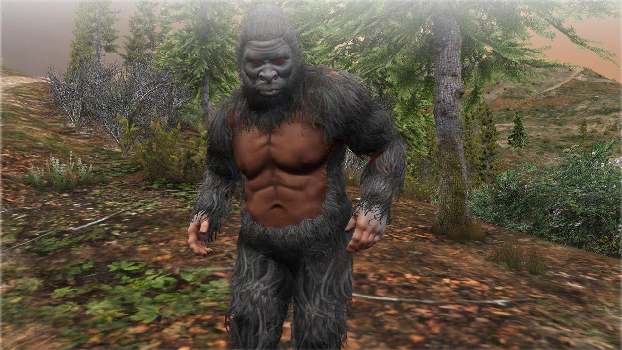 Gta  Bigfoot Location I Found Bigfoot