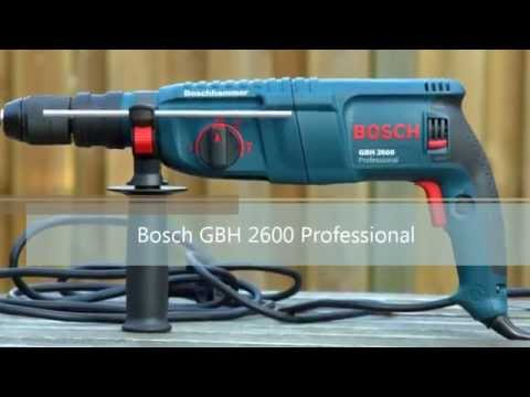 bosch gbh 2600 professional bohrhammer youtube