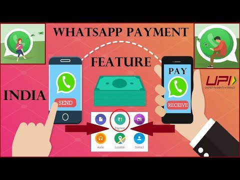 WhatsApp Payment Feature (UPI) now in India - WhatsApp new Feature