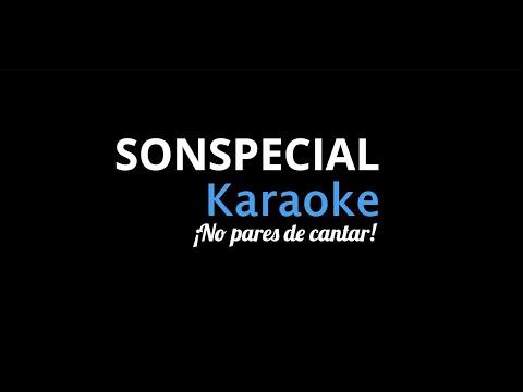 Si me dejas no vale / La Linea / Karaoke