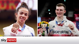 Two medals for Team GB in the Tokyo Olympics